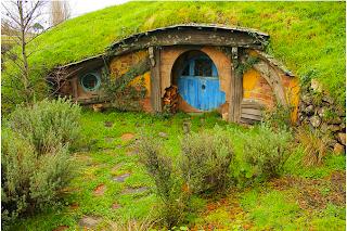 Hobbit House in New Zealand