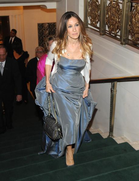 Sarah Jessica Parker Strapless Dress