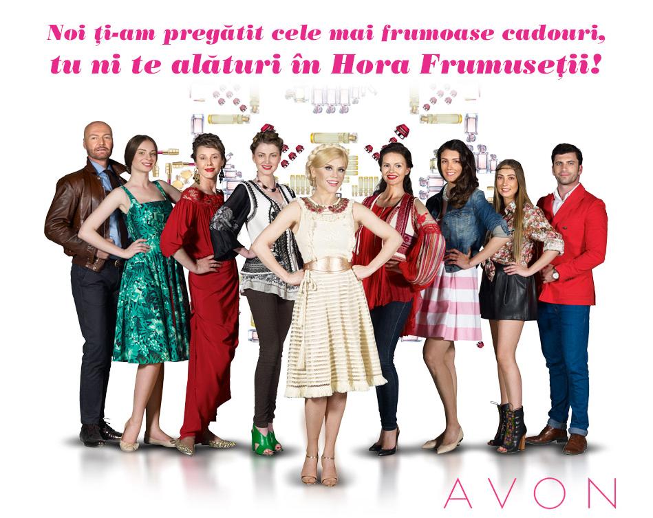 Intră în hora frumuseții Avon!
