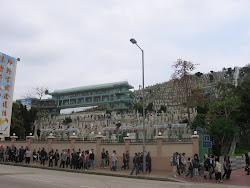 Hong Kong Graveyard.  Ching Ming Festival