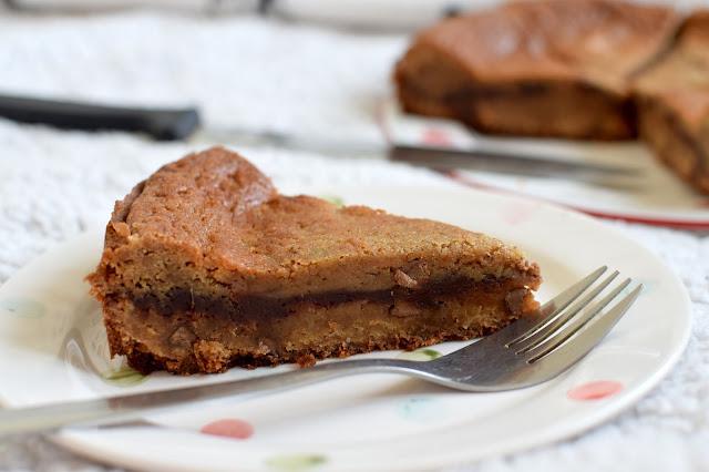 Chocolate Stuffed Deep Dish Choc Chip Cookie Pie Recipe