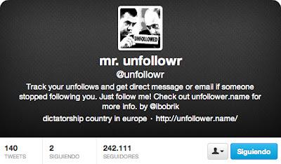 Cómo saber si alguien deja de seguirte en Twitter