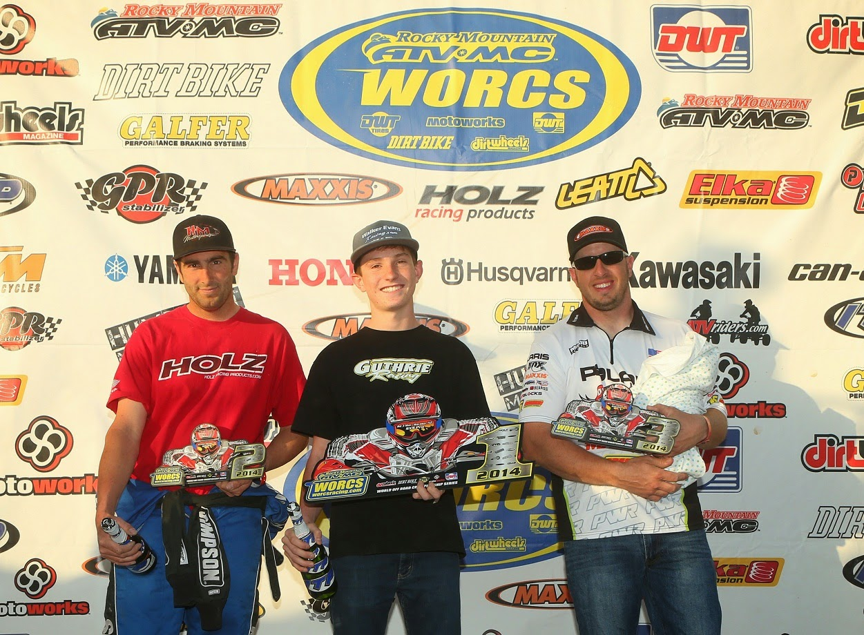 WORCS Podium