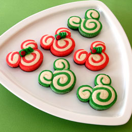 The disney diner bake these festive mickey minnie for Peppermint swirl craft show