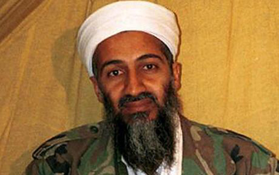 bin laden with gun osama bin laden. Osama Bin Laden is dead.