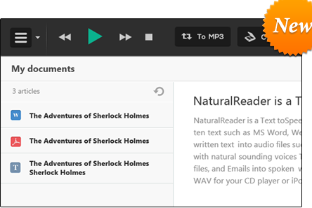 free natural english reader software