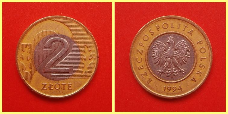 2  Zloty Polonia