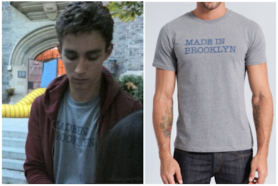 "The Mortal Instruments: City of Bones Simon Lewis ""Made in Brooklyn"" T-Shirt (Robert Sheehan)"