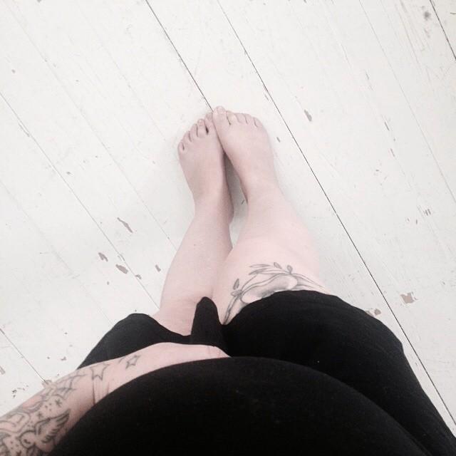 Gravid, vecka 18