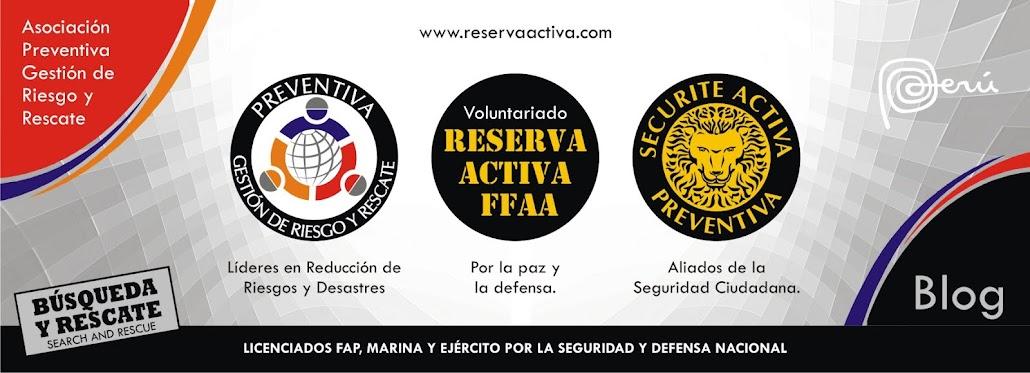 LICENCIADOS DE LA RESERVA ACTIVA FFAA