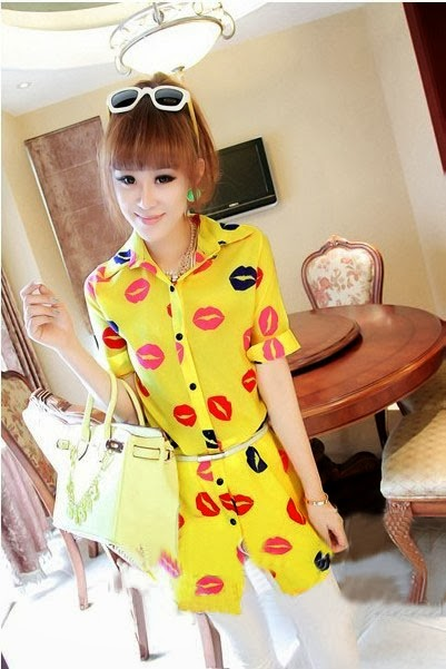 http://www.koees.com/koees-3340-Color-lips-fabrics-of-cotton-shirt.html