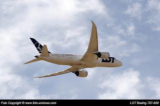 AVIÓN BOEING 787 SP-LRF