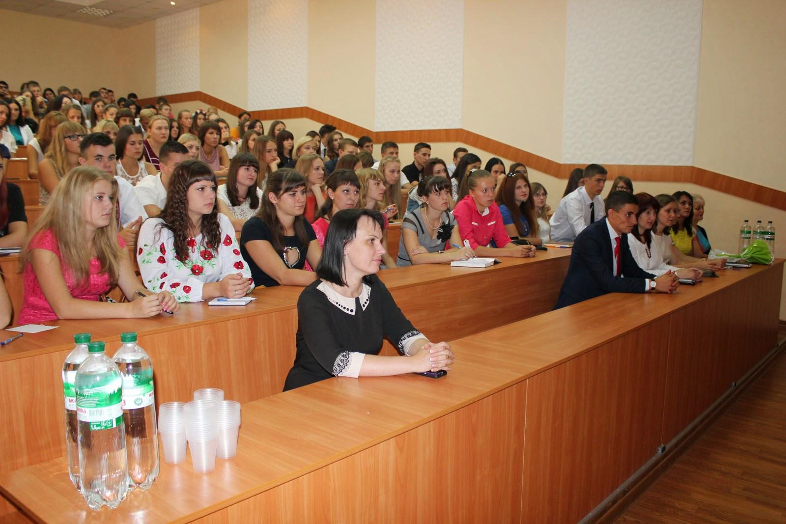 Посвята у студенти на обліково-фінансовому факультеті. Фото 5.