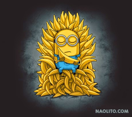 Despicable Me Banana God Feeling