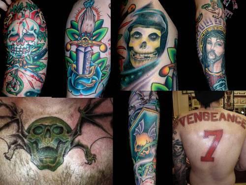 Zacky Vengeance Deathbat | www.pixshark.com - Images ... Zacky Vengeance Forever Tattoo