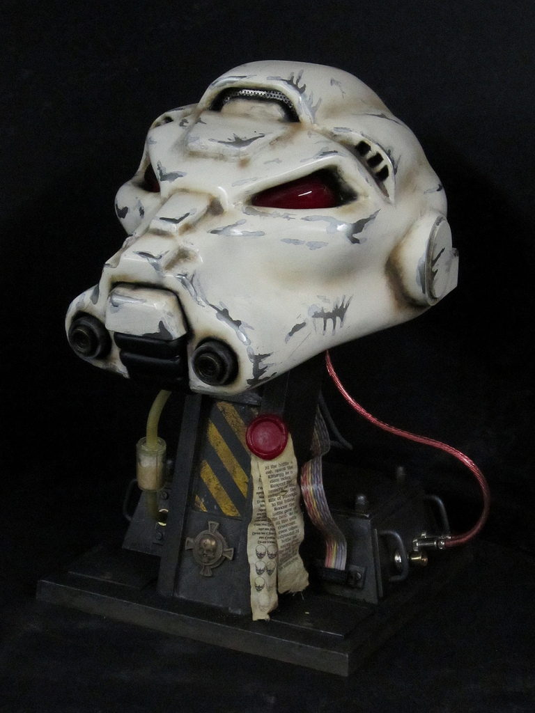 Propnomicon: Terminator Space Marine Helmet