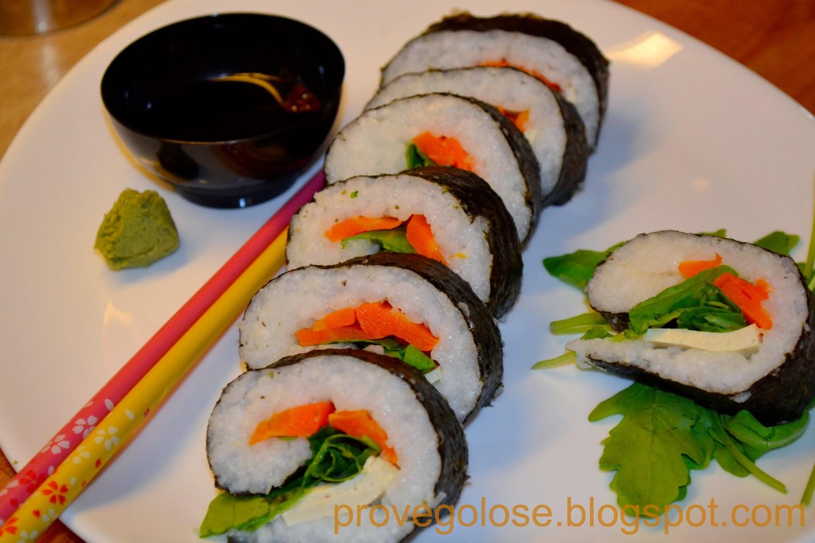 roll vegetali
