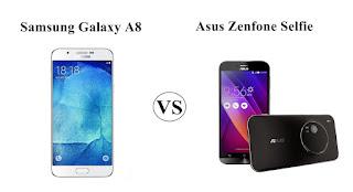 Perbaningan Spesifikasi dan Harga Samsung Galaxy A8 Vs Asus Zenfone Selfie, Pilih Mana ?
