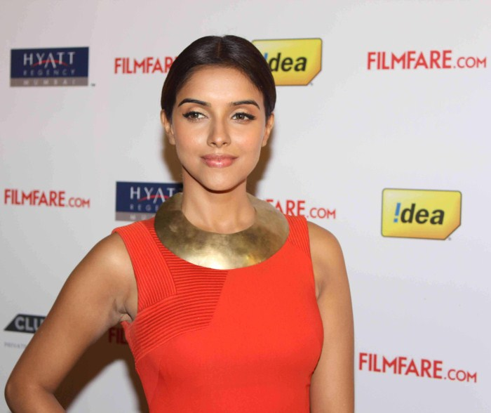 Asin at th Filmfare Awards glamour images