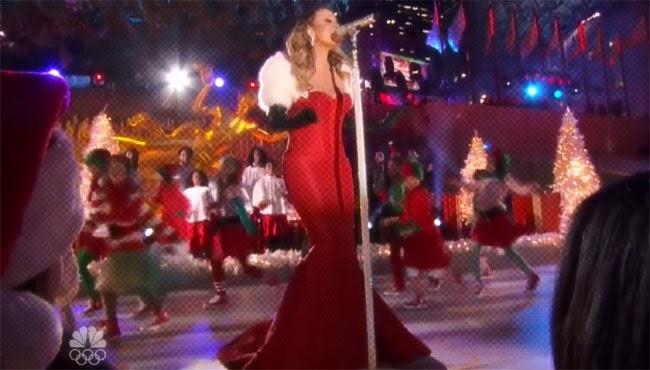 Mariah Carey Rockefeller Christmas