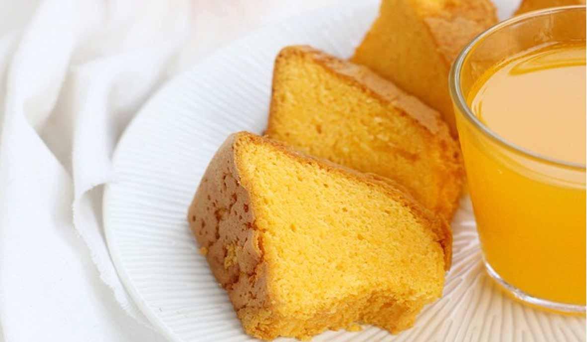 Resep Cake Jeruk Enak Tanpa Emulsifier
