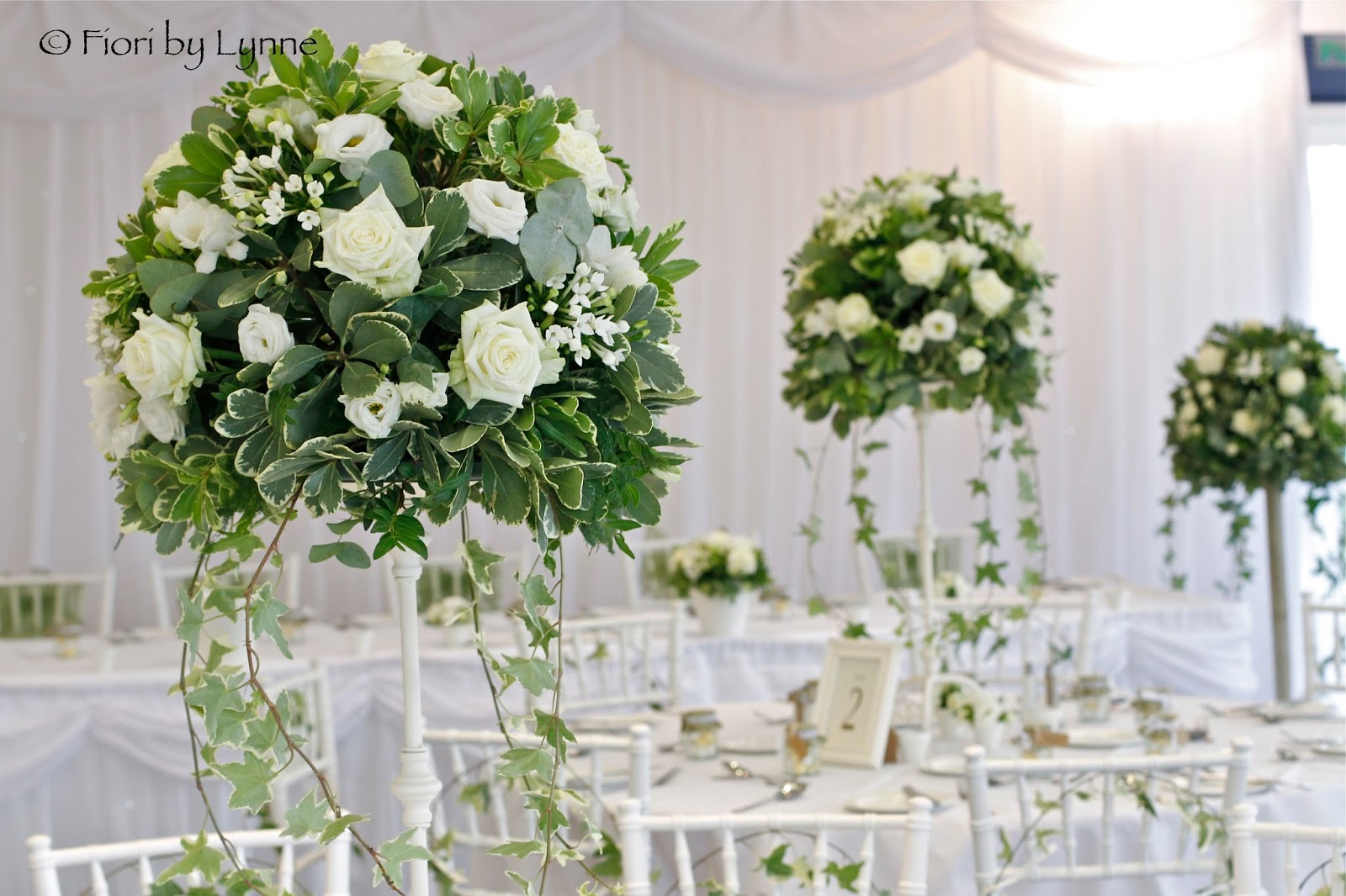 Wedding Flowers White Green : Wedding flowers rebecca s vintage garden themed