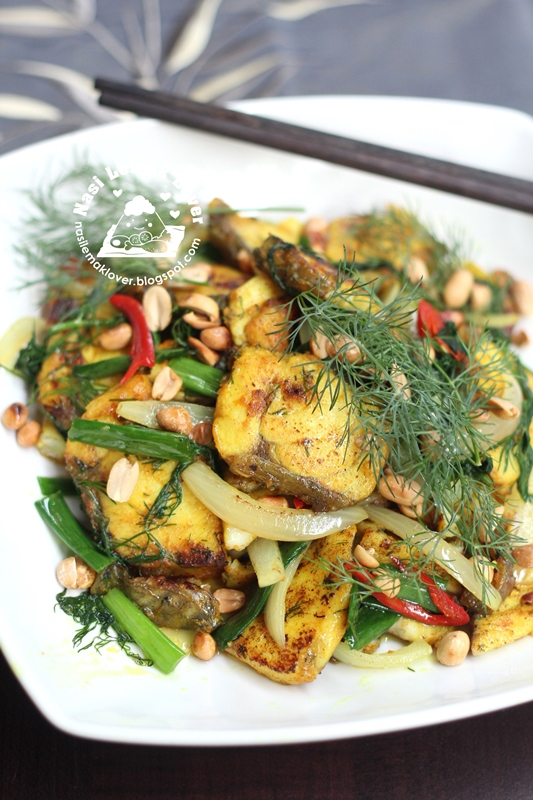 Vietnamese Style Fish with Turmeric & Dill ????????