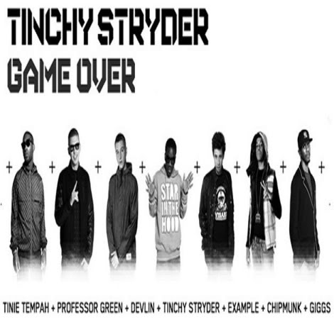 The Tinchy Stryder Game over song features the likes of Tinie Tempah,