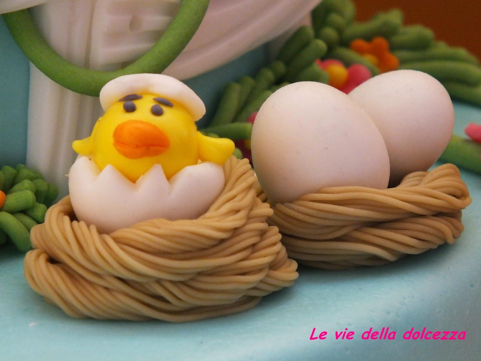 pulcino nell'uovo