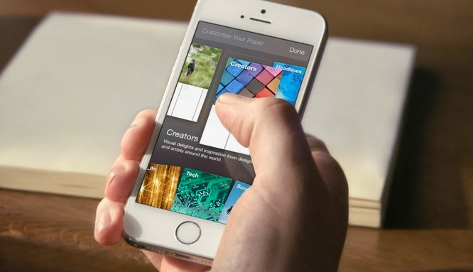 Facebook Paper app has been released for iOS iPhone and iPad for free. Just an amazing app! Review + download here..