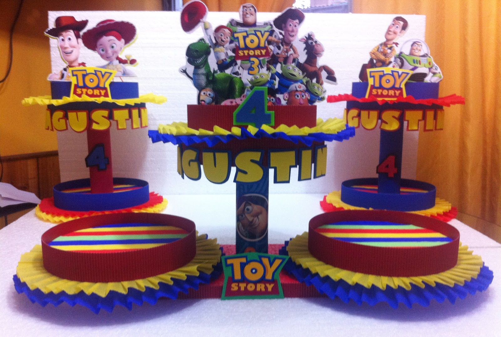Dulceros para cumpleaños con toy story - Imagui