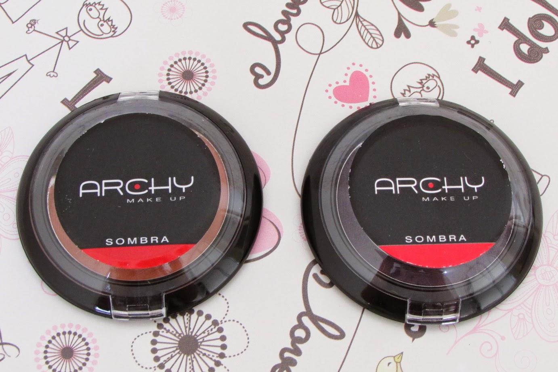 Nova, Coleção, Sombras, Uno, Peach, Amber, Archy Make Up