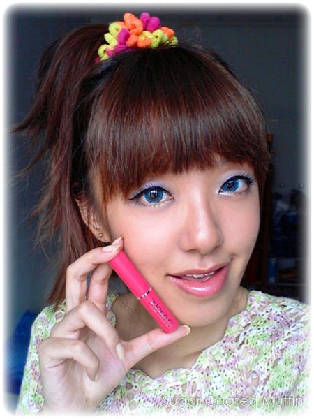 Makeup with Clinique Lipstick