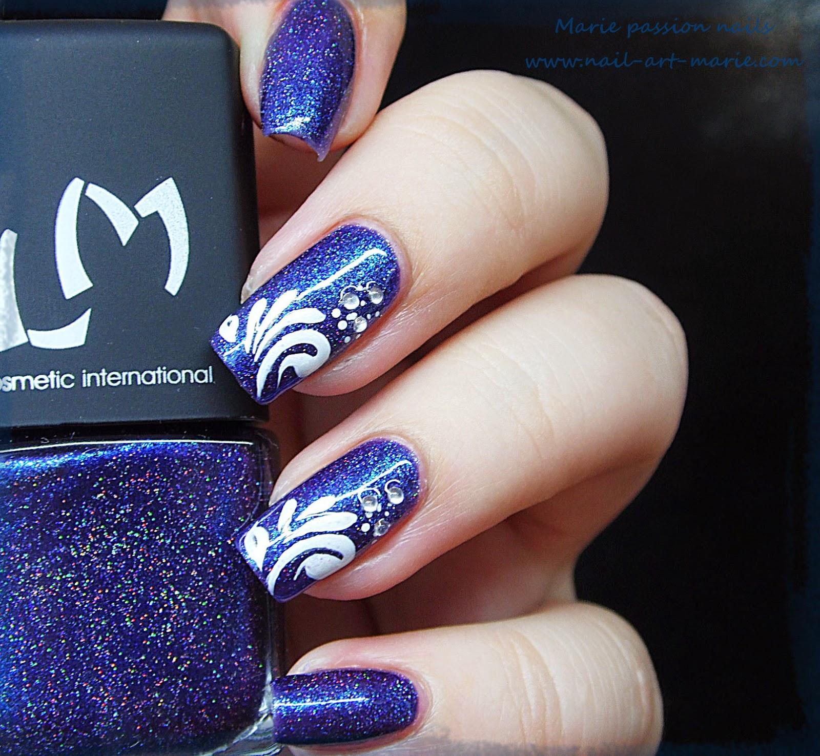 Nail Art gouttes sur Magie (G)1