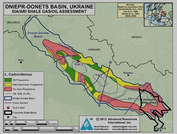 DNİEPER-DONETS BASIN UKRAİNE ile ilgili görsel sonucu