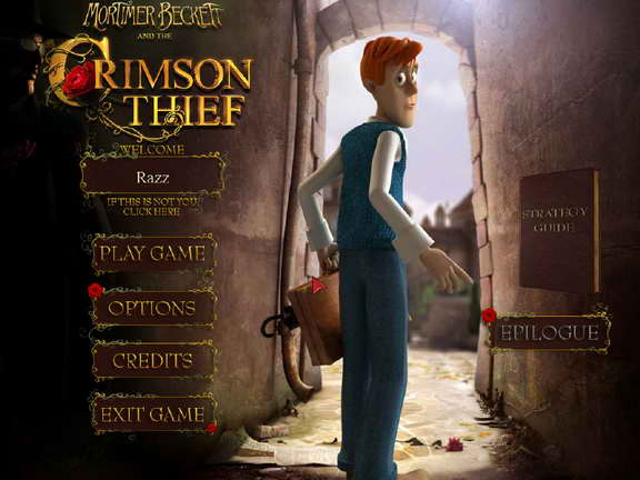 Mortimer Beckett and the Crimson Thief for iOS (iPhone ...