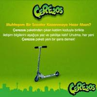 Çerezos-Scooter-Çekiliş-Kampanyası