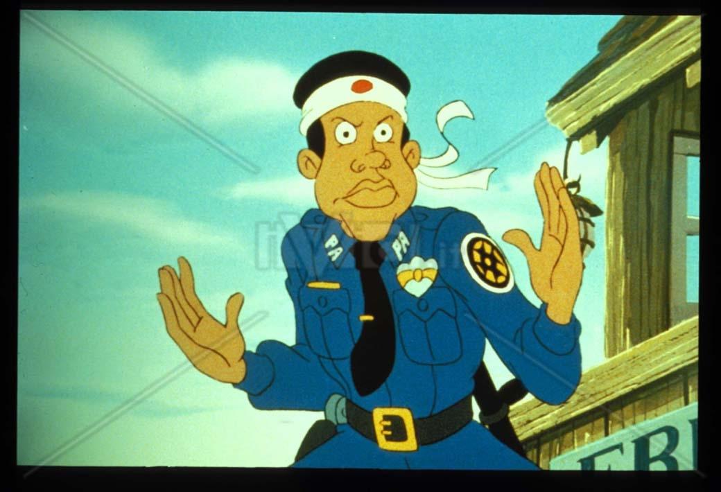 Scuola di polizia il cartone animato