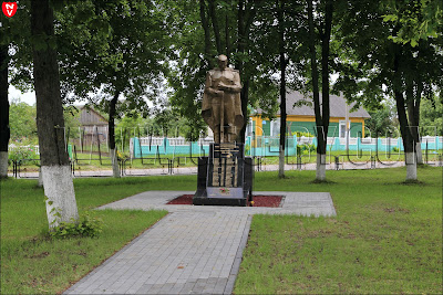 Крошин. Памятник погибшим в Великую отечественную войну
