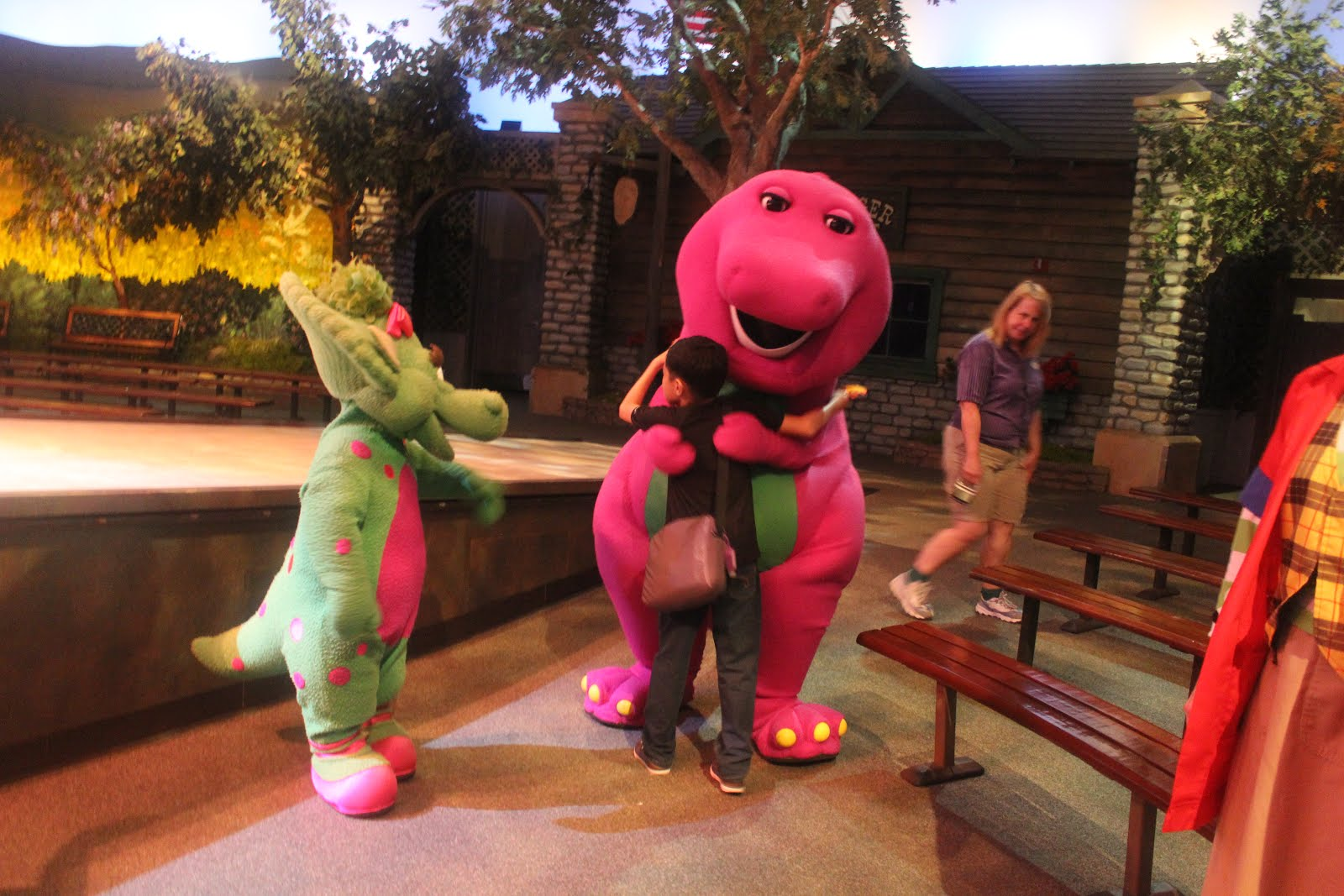 Stay Stray Play And Feast A Day In The Park With Barney Vip