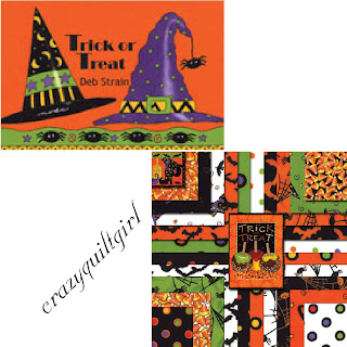 Moda TRICK OR TREAT Quilt Fabric by Deb Strain