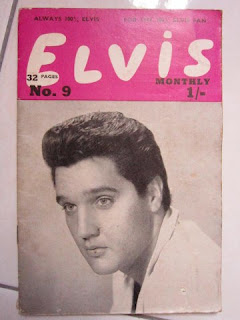 Elvis Presley King Monthly Kid Creole Girls Girls Girls All shook up series 3 magazine