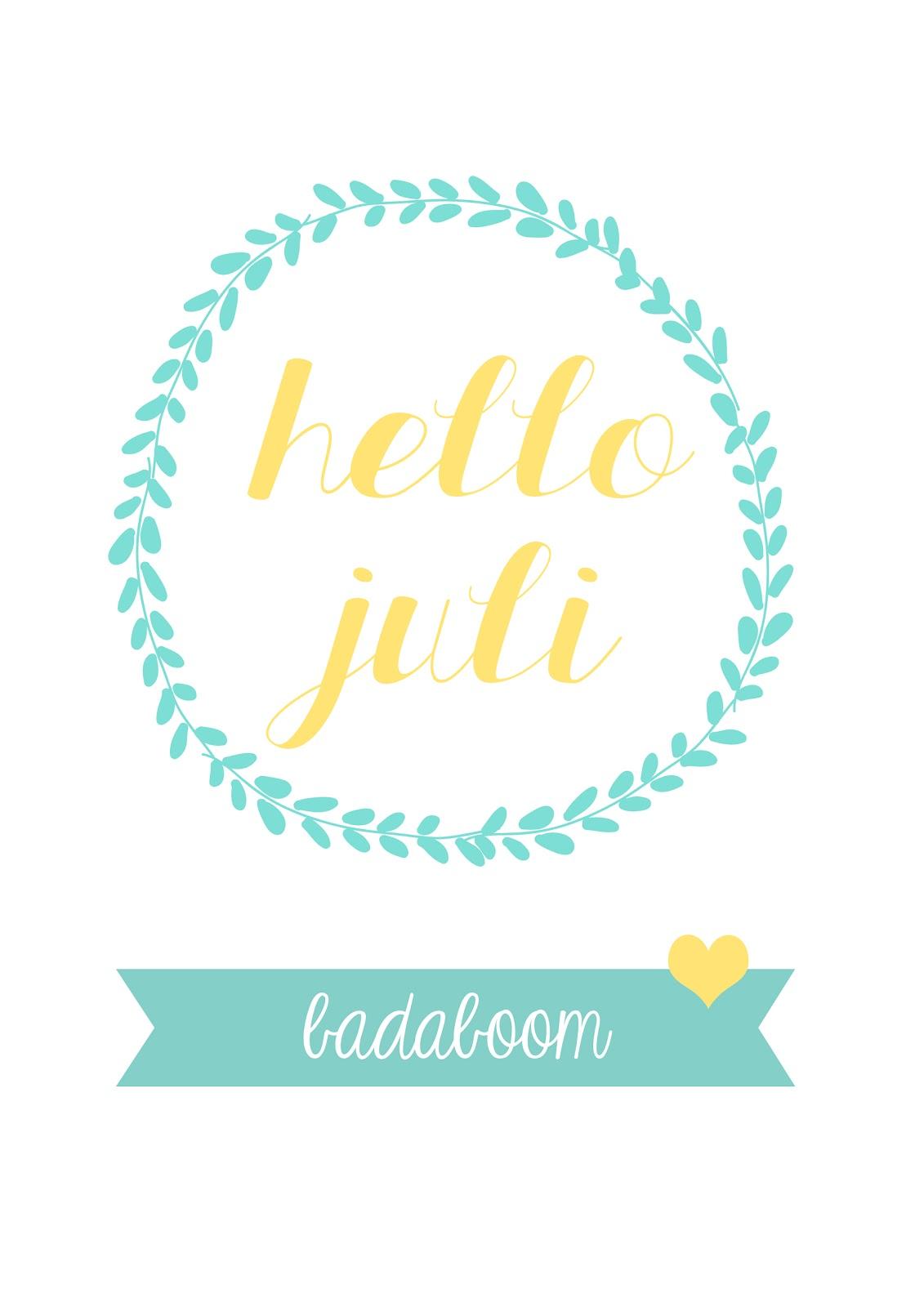 Hello Juli