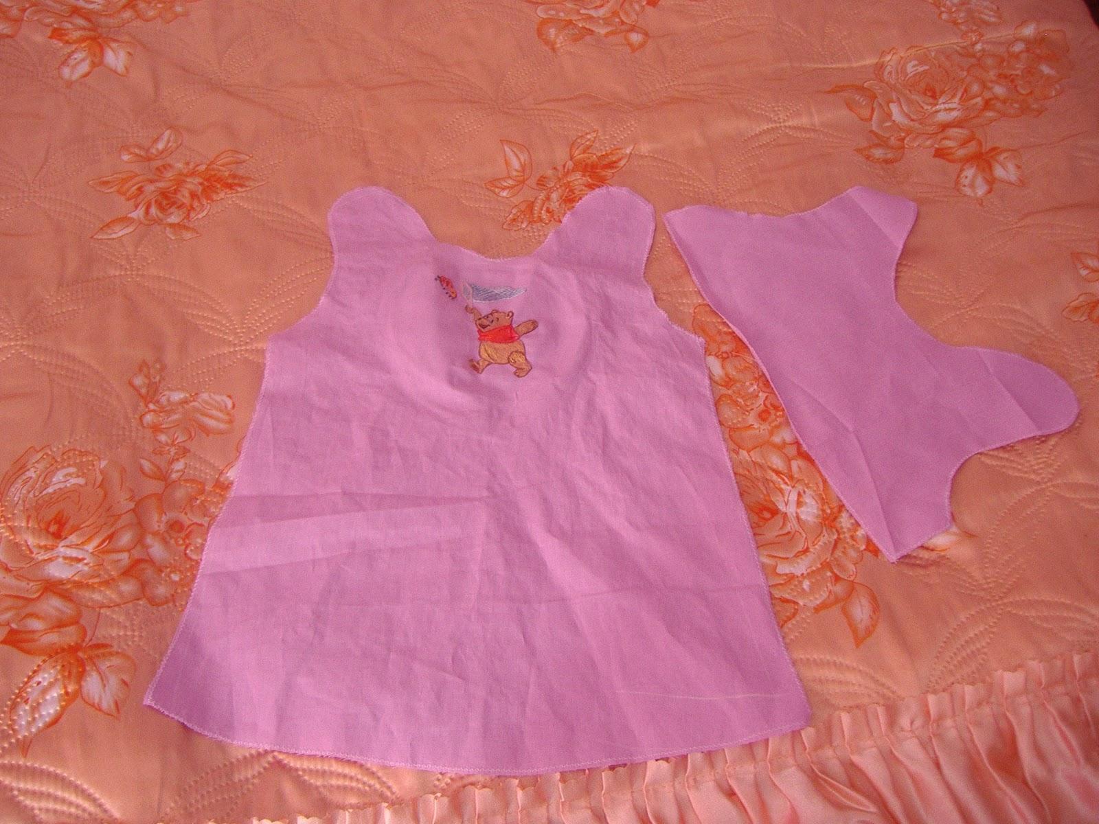 Как строится выкройка: платье для девочки 1 год 13