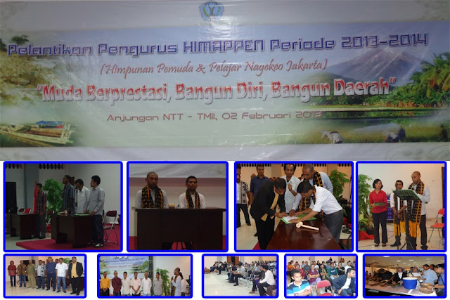 Pelantikan Pengurus Himpunan Pemuda dan Pelajar Nagekeo Jabodetabek (HIMAPPEN JABODETABEK)