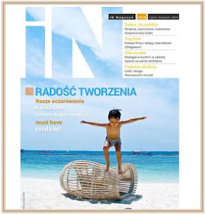 Blog Mile Maison wyróżniony przez In Magazyn