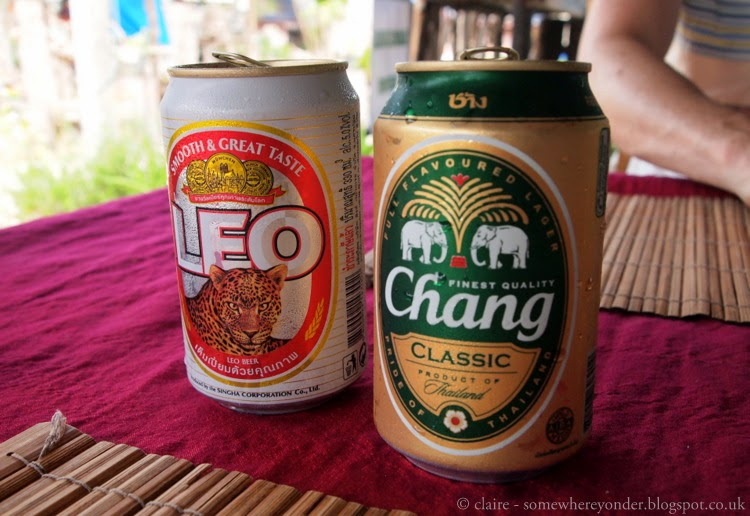 Local beer - Thailand
