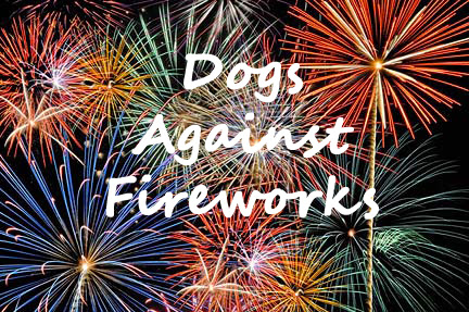 Image result for Dogs Hate Fireworks