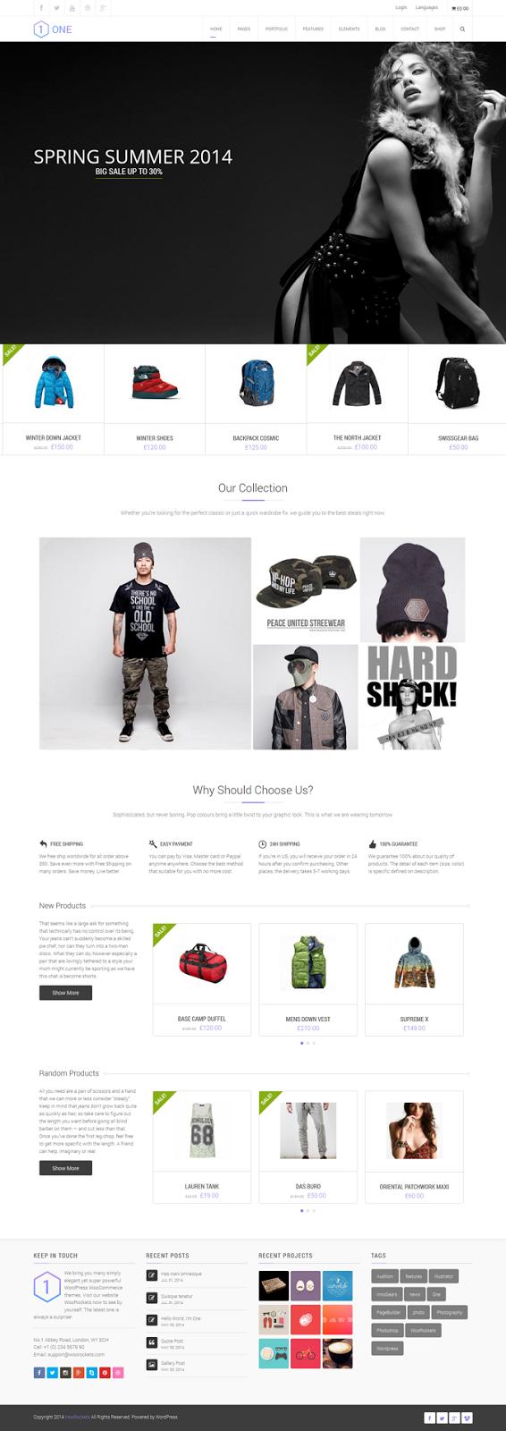 sexy womens store website theme