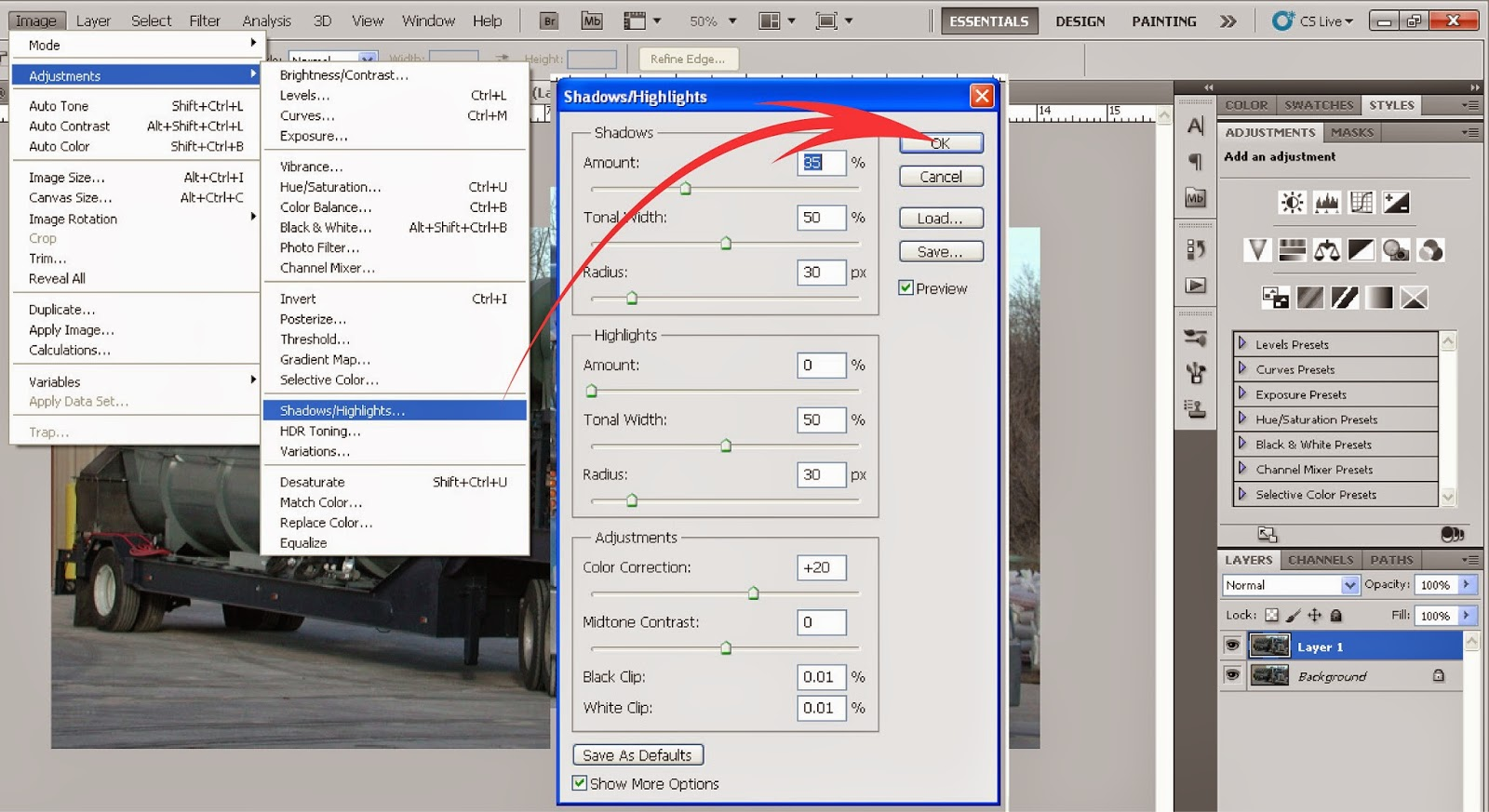 Tutorial Membuat Efek HDR Dengan Photoshop